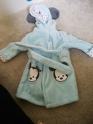 Disney Baby Dressing Gown Mickey Mouse