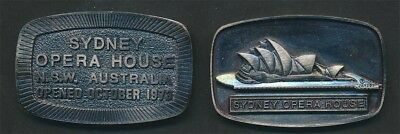 Australia: 1973 Opera House Official Opening 55 x 35 mm Commemorative Medal