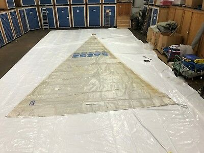 Headsail for J32 by UK Sailmakers in Fair Condition 36.6' Luff
