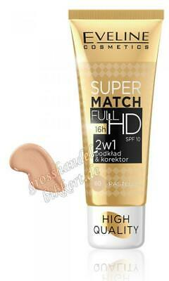 Make-up Super Match Full HD 2 in 1, Pastell 30 ml  N60
