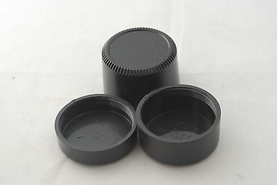 New Three M39 Plastic Rear Caps Set, Deep, Medium Depth and Normal For Leica SM