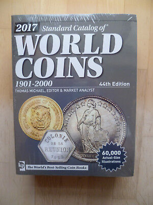 Standard Catalog of World Coins 1901 - 2000 44th Edition AUSGABE 2017 NEU&OVP