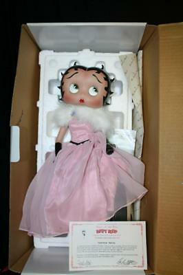 "Danbury Mint 2004 ""Belle of the Ball"" Limited Edtion Betty Boop 15"" Tall COA"