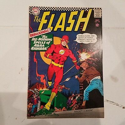 Flash 170 VF  HUGE DC SILVER AGE COLLECTION No Reserve