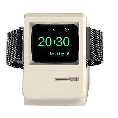 1984 Mac Apple iWatch Stand Charger Charging Dock Holder Charging Station White