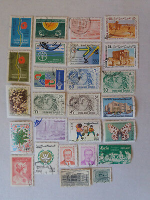 Lot Briefmarken Syrien gelaufen / used