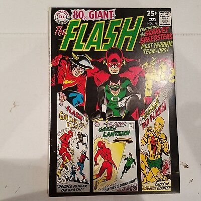 Flash 178 VF+  HUGE DC SILVER AGE COLLECTION No Reserve