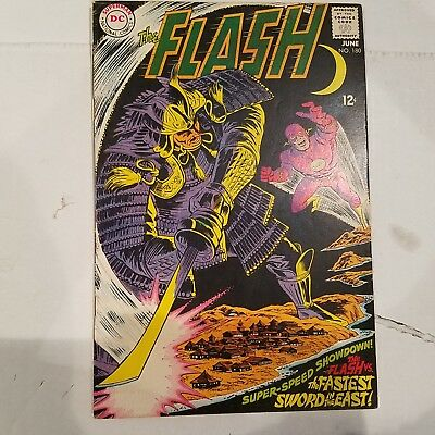 Flash 180 VF-  HUGE DC SILVER AGE COLLECTION No Reserve