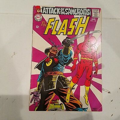 Flash 181 Fine+  HUGE DC SILVER AGE COLLECTION No Reserve