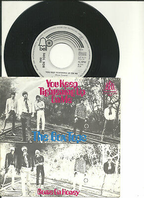 "rare 7""___THE BOX TOPS___You keep tightening up on me___( D / 1970 / PS )"