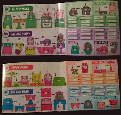 2018 Mcdonalds Happy Meal Shopkins Happy Places Pick your toy!