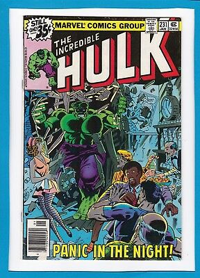 "Incredible Hulk #231_Jan 1979_Fine Minus_""panic In The Night""_Bronze Age Marvel!"