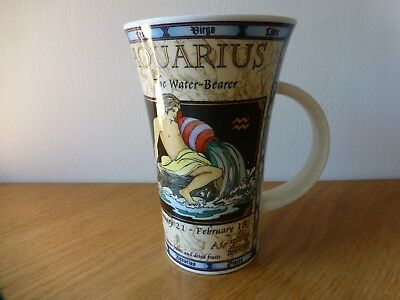 "One Dunoon Fine Stoneware Mug ""zodiac"" A Design By Jack Dadd Made In Scotland"