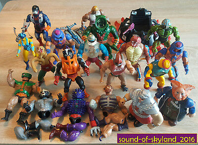 SAMMLUNG / Masters of the Universe 80er Vintage - Figuren / MOTU