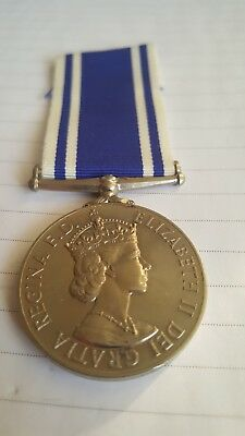 ERII POLICE LONG SERVICE & GOOD CONDUCT Medal to Constable Robert S Grant