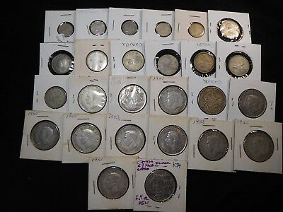 K34 Canada Silver Coins $9 Face Value 5.4 Oz Total ASW Group 26 Coins Total