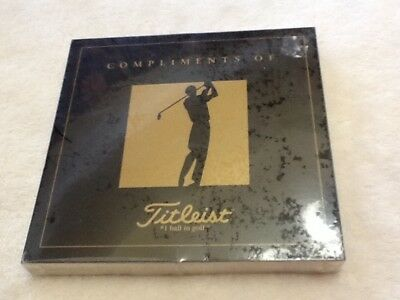 UNOPENED 1996 Titleist Champions Of Golf Masters Collection