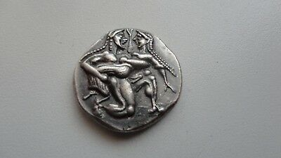 Repro Ancient Greek Coin STATER THASSOS Fine Silver 999 Free Shipping