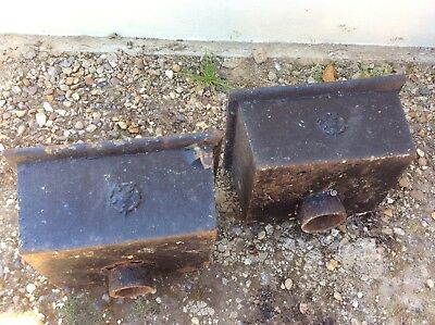 Cast Iron Gutter Hoppers X 2