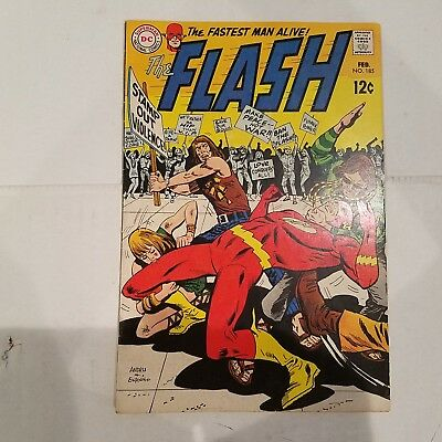 Flash 185 VF  HUGE DC SILVER AGE COLLECTION No Reserve