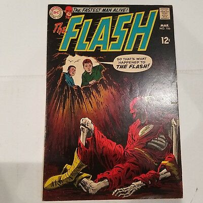 Flash 186 F/VF  HUGE DC SILVER AGE COLLECTION No Reserve
