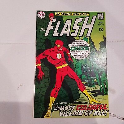 Flash 188 VF+  HUGE DC SILVER AGE COLLECTION No Reserve