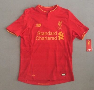 Liverpool Football Club New Balance Soccer Jersey Youth Large NWT
