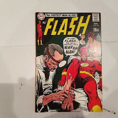 Flash 190 VF+   HUGE DC SILVER AGE COLLECTION No Reserve