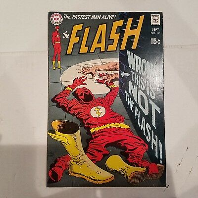 Flash 191 VF-   HUGE DC SILVER AGE COLLECTION No Reserve