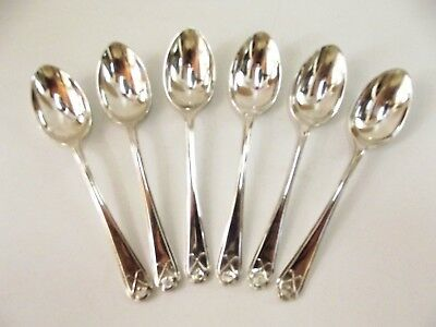 Six Antique Silver Tea Spoons Hallmarked Sheffield 1933 Ref 283/7