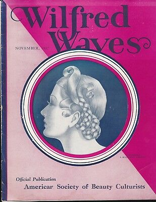 WILFRED WAVES Nov. 1937 Beauty Magazine GEORGE QUAINTANCE Cover & Art GAY Icon
