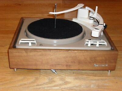 Garrard 210 Turntable Automatic Record Changer 16 33 45 78