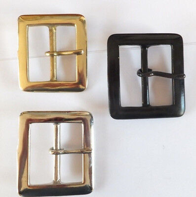 "BS74 - 2""  - 50 mm SOLID BRASS, ANTIQUE or NICKEL BELT BUCKLE LEATHER CRAFT"