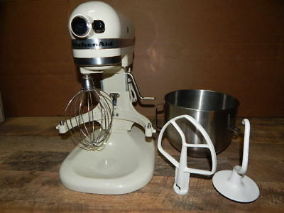 KITCHEN AID K5SS Heavy Duty Mixer & Dough Hook, Paddle, Whip ...