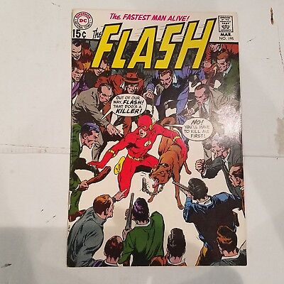 Flash 195 VF HUGE DC SILVER AGE COLLECTION No Reserve