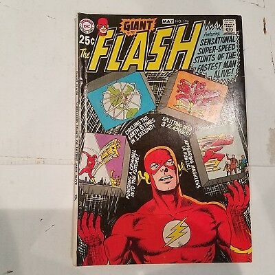 Flash 196 F/VF HUGE DC SILVER AGE COLLECTION No Reserve
