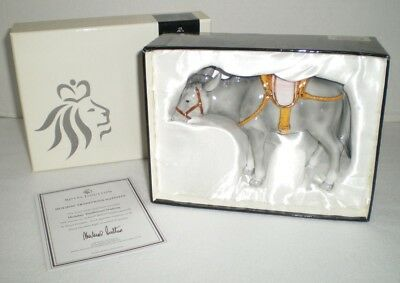Royal Doulton Holiday Traditions Nativity Porcelain Donkey Figurine with Box