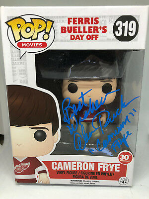 Alan Ruck signed FUNKO POP figure Ferris Bueller's Day Off Cameron