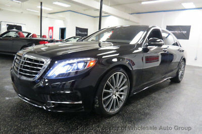 Mercedes-Benz S-Class 4dr Sedan S 550 RWD ONE OWNER CARFAX CERTIFIED . FULLY LOADED.  BEST COLOR. FACTORY WARRANTY