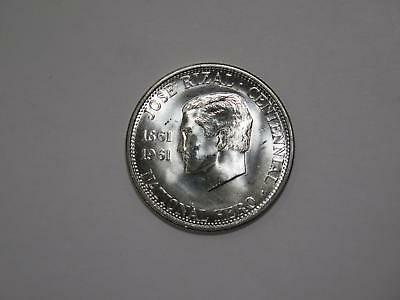 Philippines 1961 Half Peso National Hero Silver Type World Coin Collection Lot