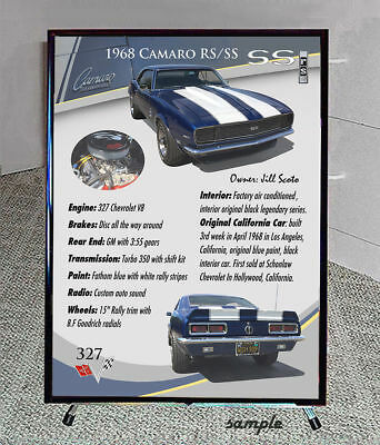 YOUR CAR SHOW DISPLAY Board Stand Complete PicClick - Car show display signs
