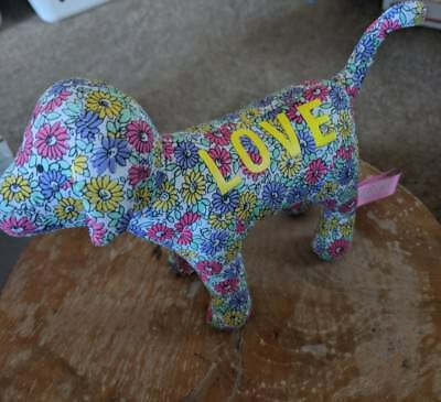 Victorias Secret Love Floral Dog Plush Toy
