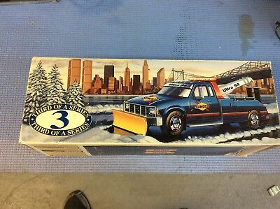 Brand New Sunoco Tow Truck With Plow Collectors Series With Box