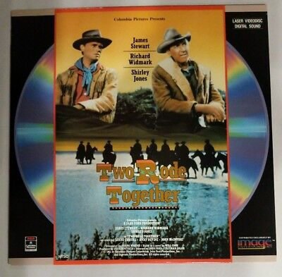 Laserdisc - Two Rode Together - 1961 - [Id6644Rc] James Stewart Shirley Jones