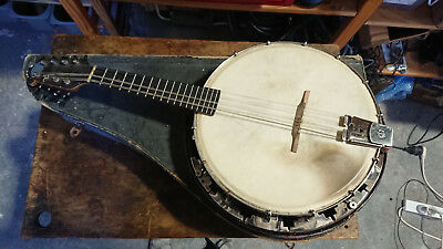Vintage John Grey and sons Banjolin Mandolin Banjo