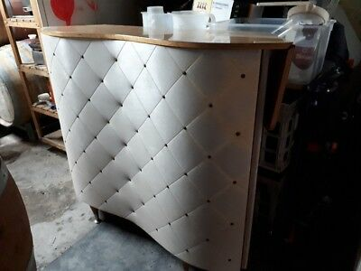 Art deco bar- pale pink. Great condition