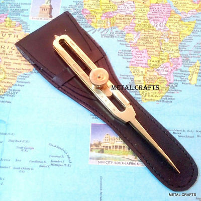 Brass Proportional Divider Drafting Tool 6 Scientific Engineer Quality Product