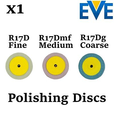 x1 Dental EVE Diapol Polishing Disc Disk Polish Ceramic Porcelain Diamond
