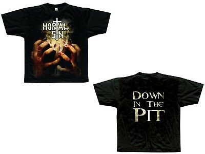 MORTAL SIN - Psychology Of Death - T-Shirt - Größe Big Size XXXL (3XL) - Neu