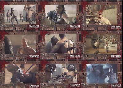 Spartacus Gladiators in Action Trading Card Set